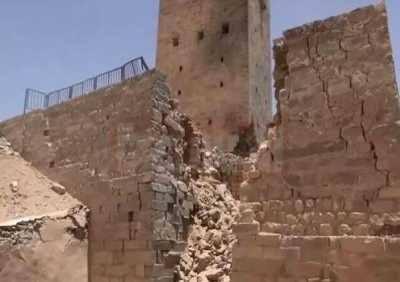 نتيجة بحث الصور عن آثار تاريخية تعرضت للقصف